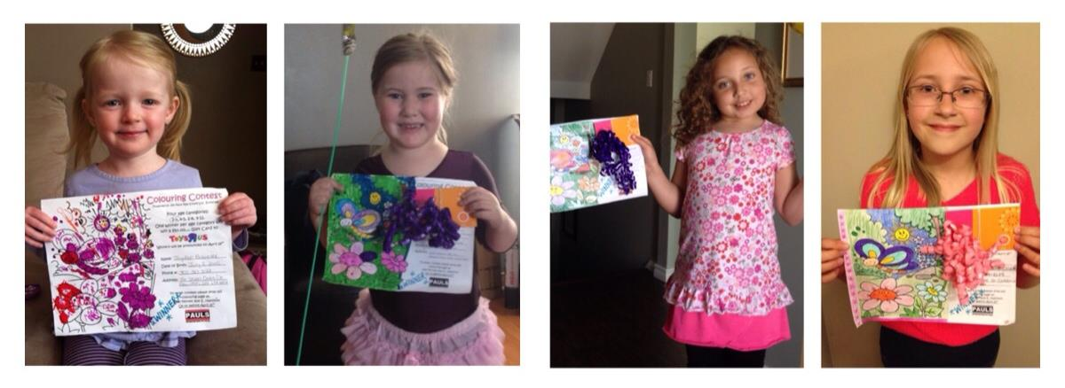 Colouring Contest Winners - Jim Pauls Real Estate
