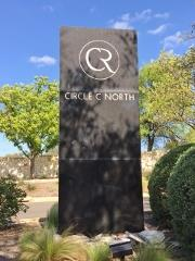 Sign at the entrance to Circle C North subdivision in SW Austin