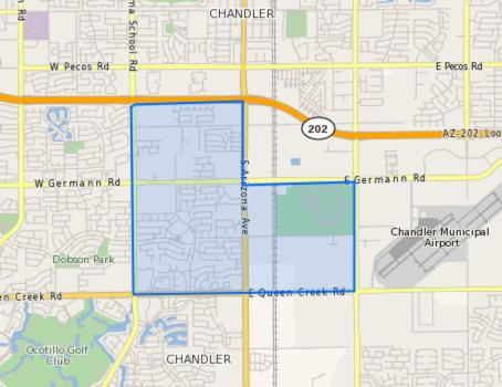Hancock_Elementary_School_Homes_for_Sale Boundary Map