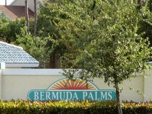 Bermuda Palms Naples Fl sign