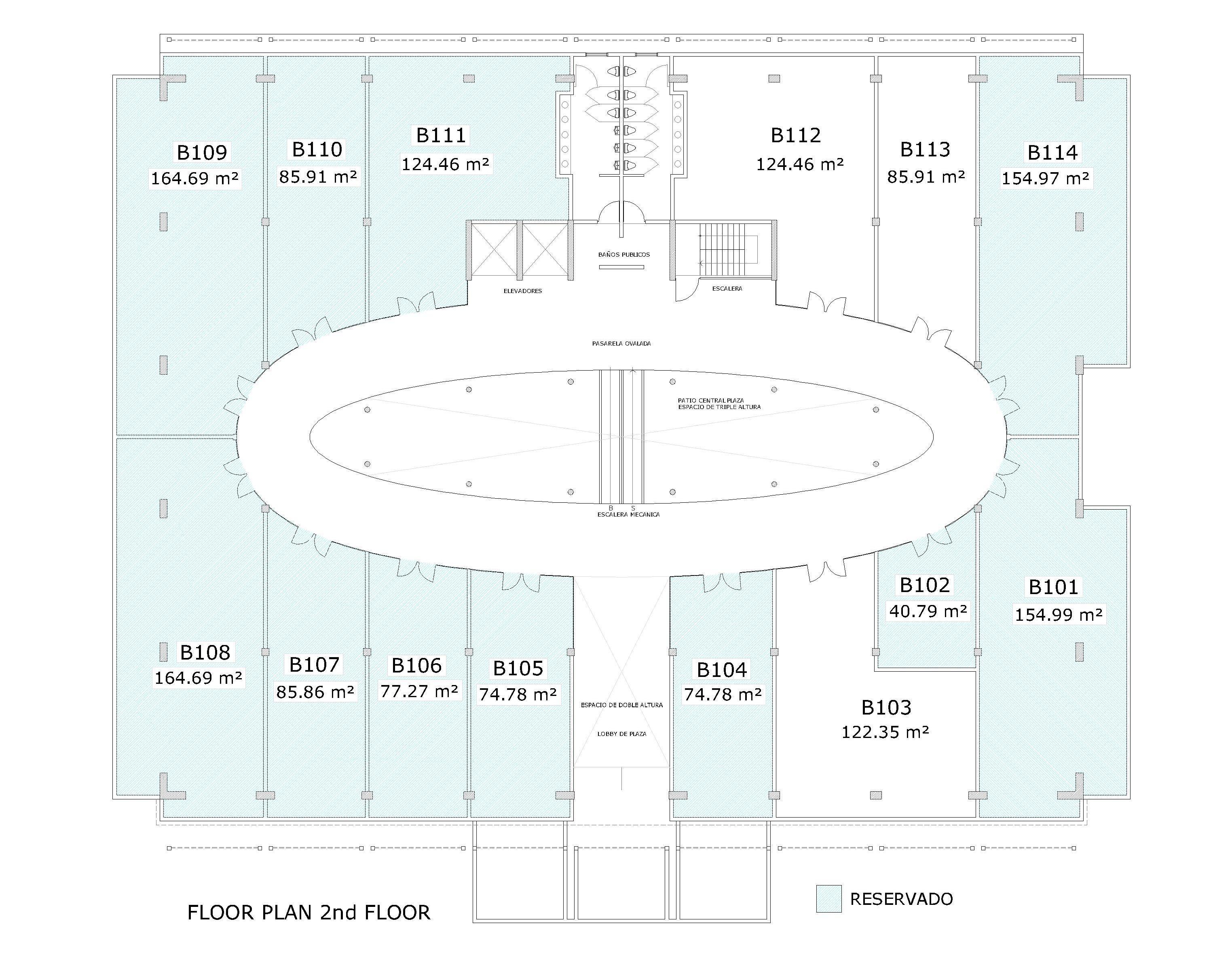 BTM Floor Plan 2nd Floor