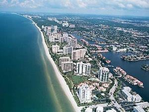 Park Shore Naples Fl community aerial view