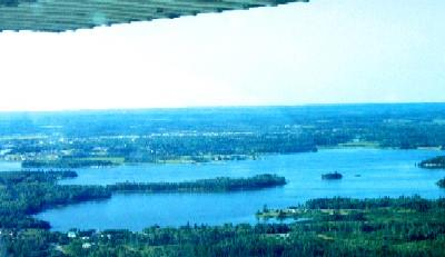 Birds Eye View of Wabigoon Lake!