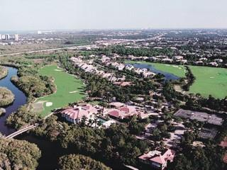 Colliers Reserve Naples Fl aerial view
