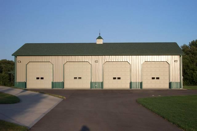 Garages pole buildings garage builder pole barn for Average square foot cost to build a garage
