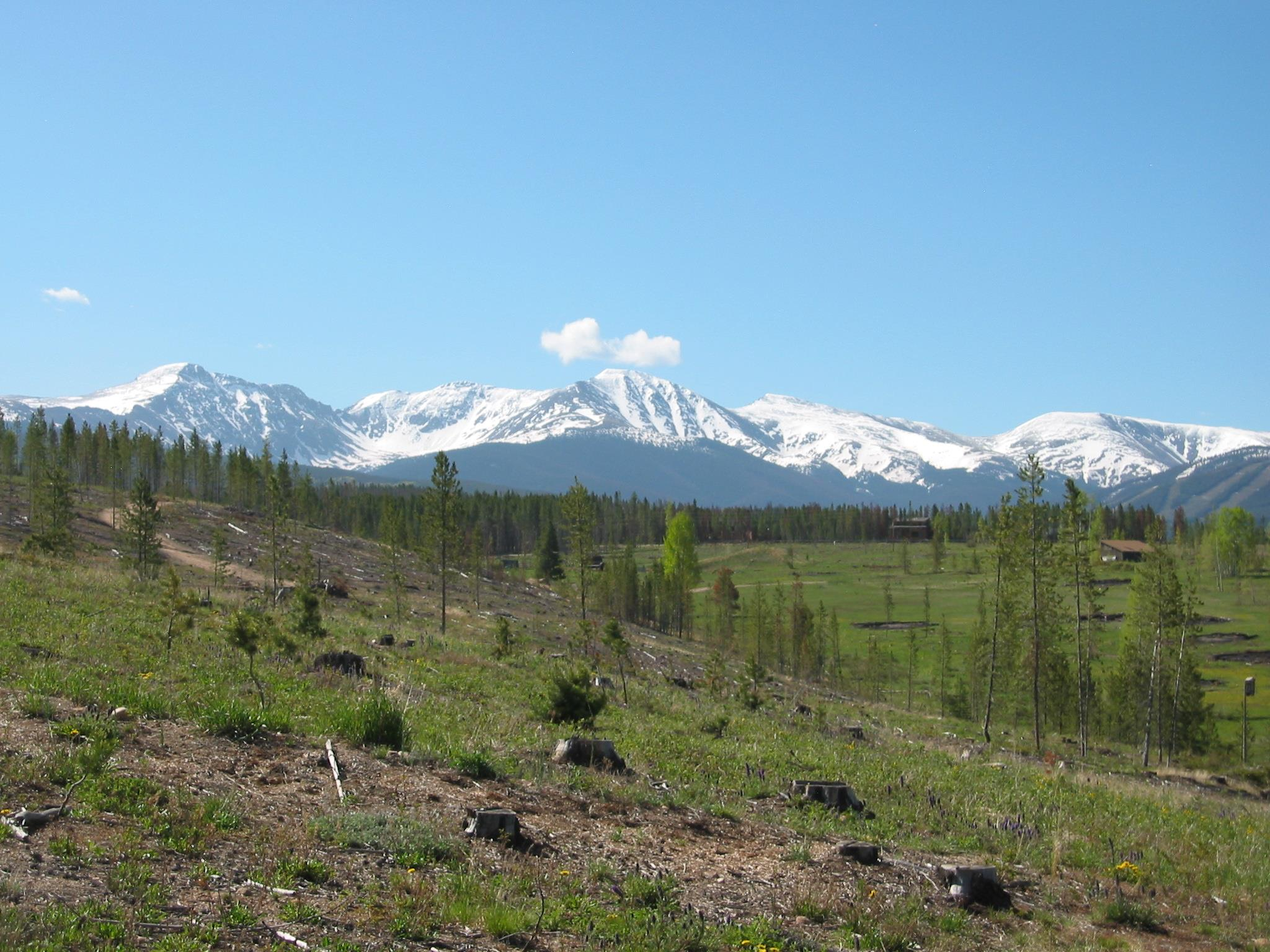 """""""Views of Parry Peak and the Continental Divide"""""""