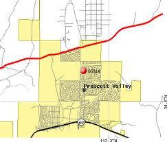 Prescott Valley Subdivision Map