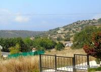 Akoursos mountain side view