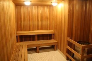 Solstice condominium sauna
