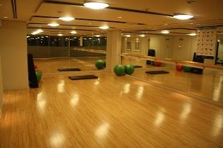 Solstice condominium exercise room