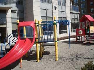 Hullmark condominium outside playground for kids