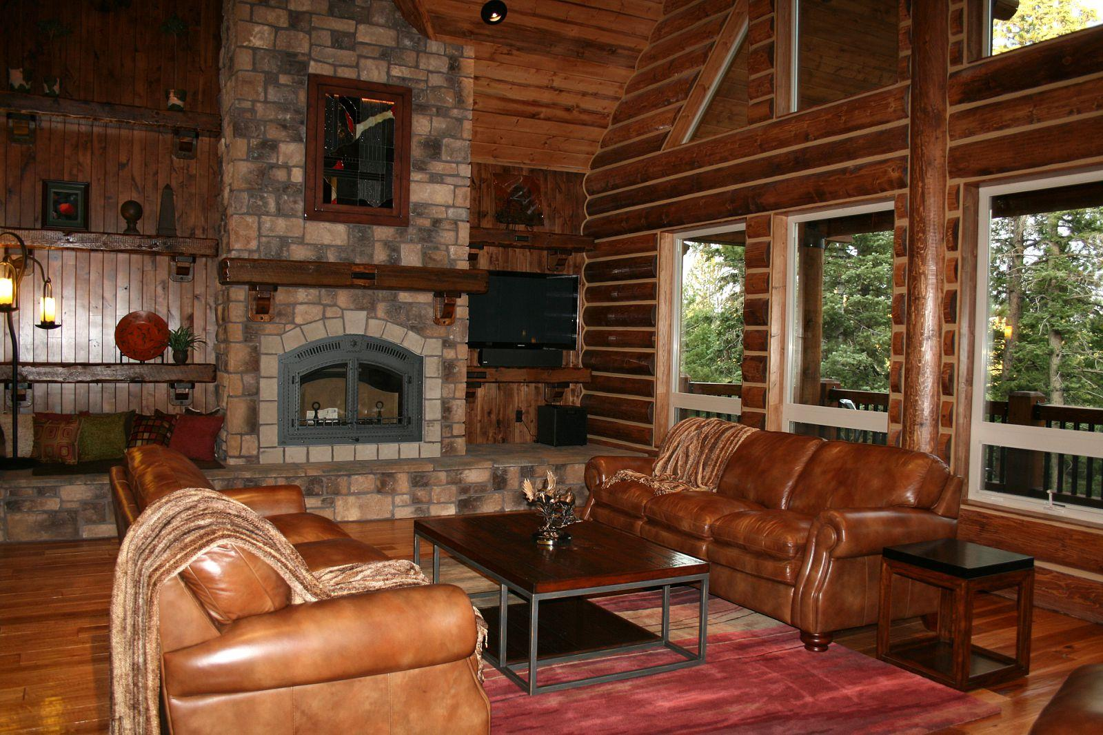 Interiors, Log Home Floor Plans   Grizzly Log Builders