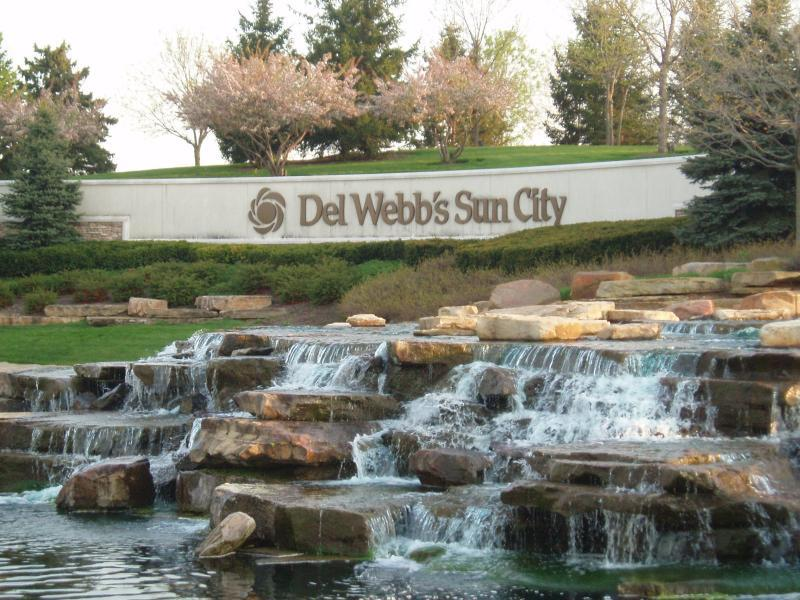 Waterfall at Del Webb Sun City