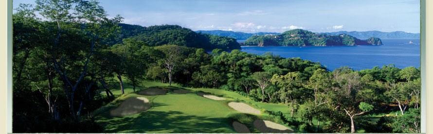 Golf Course in Papagayo Costa Rica