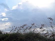 Beach scene, Holden Beach real estate