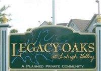 Legacy Oaks In Lower Macungie in the Lehigh Valley