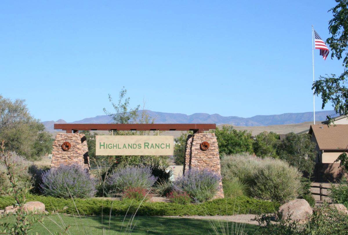 Highlands Ranch Chino Valley AZ