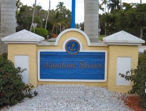 Aqualane Shores Naples Florida