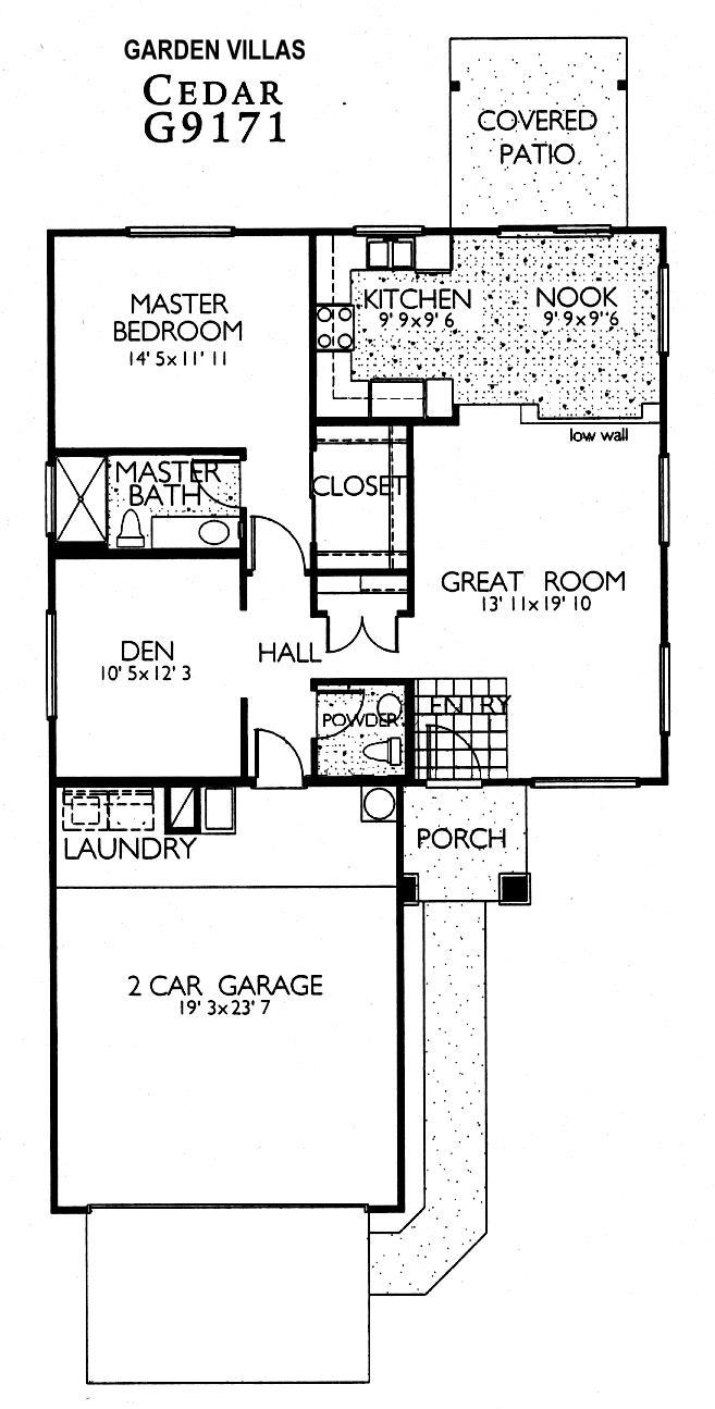 Sun City Grand Cedar floor plan, Del Webb Sun City Grand Floor Plan Model Home House Plans Floorplans Models in Surprise Phoenix Arizona AZ Ken Meade Realty Kathy Anderson