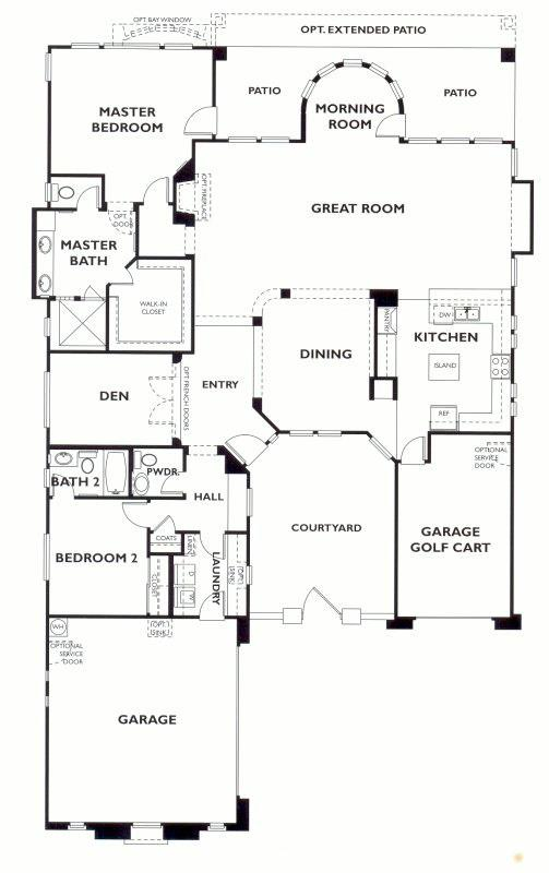 trilogy at vistancia accredo floor plan model  shea trilogy vistancia home house floor plans