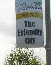 Lomita The Friendly City Sign