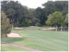 One of the beautiful holes on the Onion Creek Club golf course.