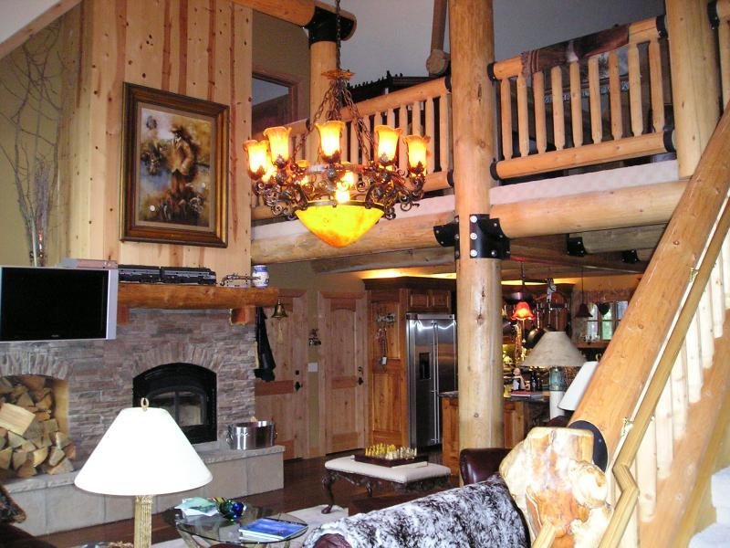 California Log Home Kits And Pre Built Log Homes Custom Interior Simple Log Homes Interior Designs Interior