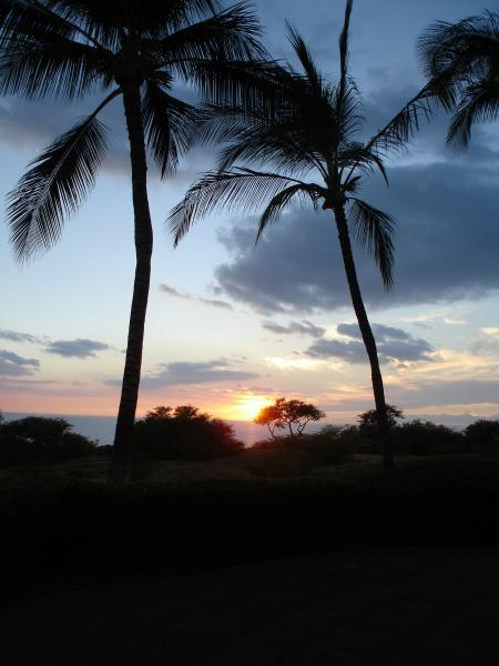 Mauna Kea Resort Sunset