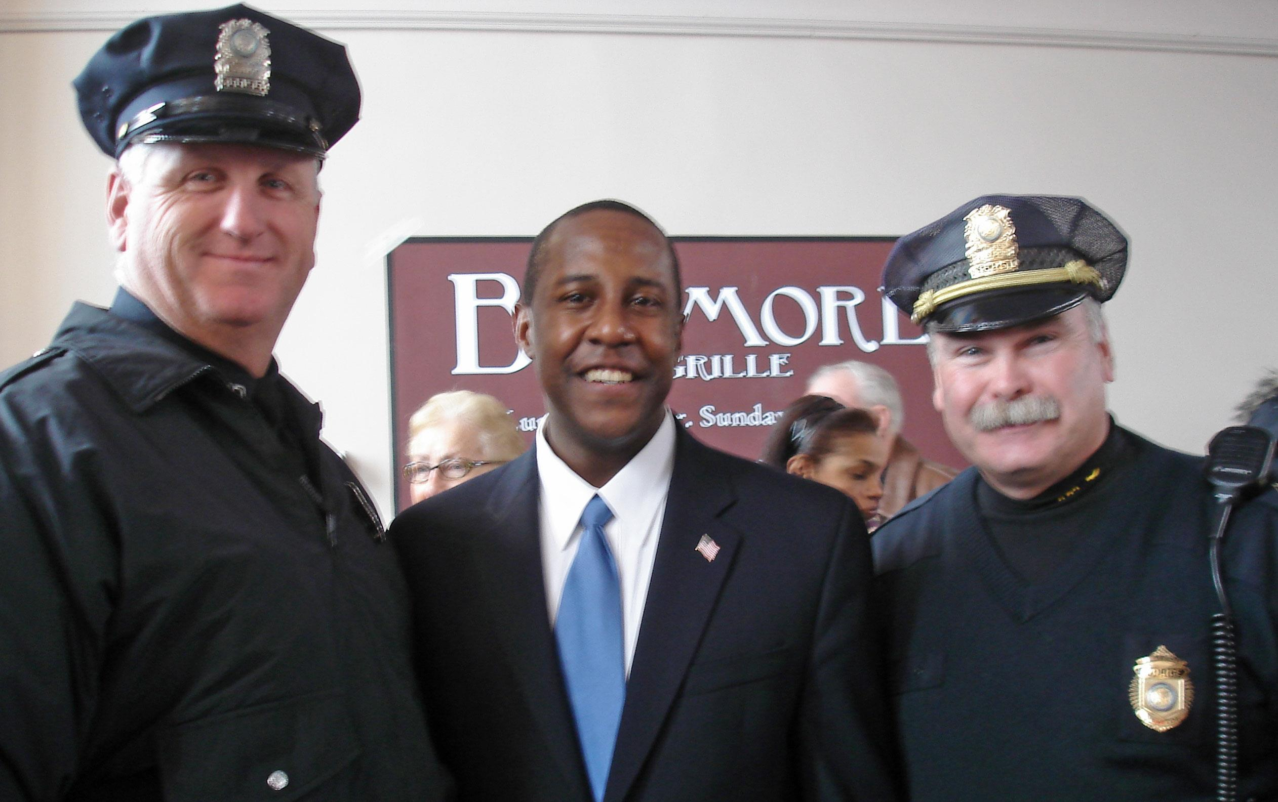 Newton Celebrates Mayor Setti Warren's Inauguration