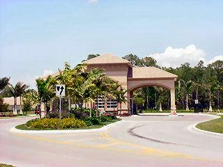 Delasol Naples Fl community entrance