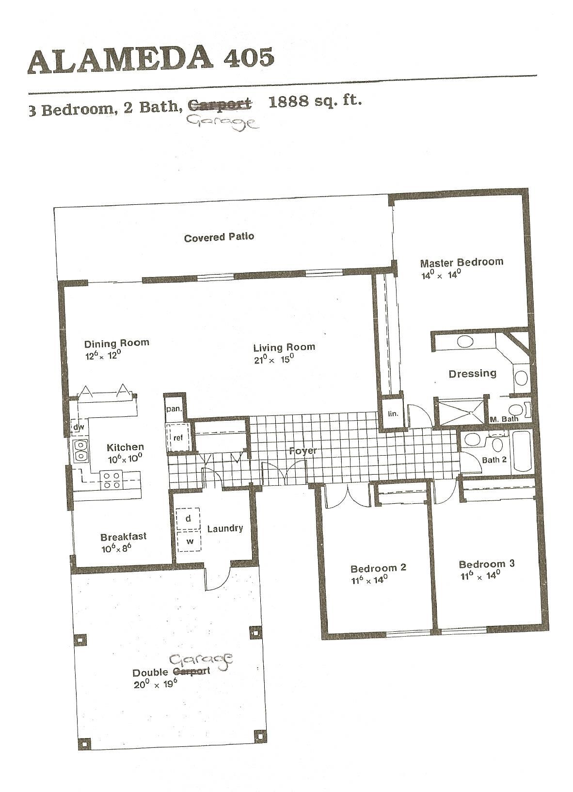 Alameda Floor Plans