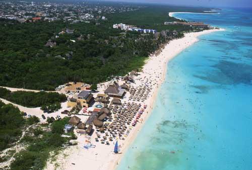 Playa Del Carmen Mamitas Beach of Years Past
