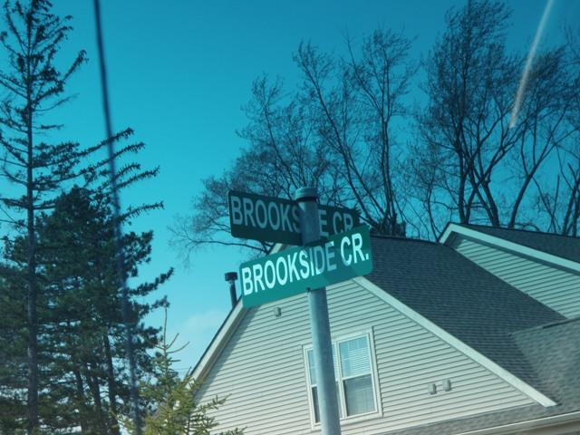 Brookside Cir streetsign