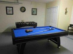 Pool home rental in Solana Resort Games room