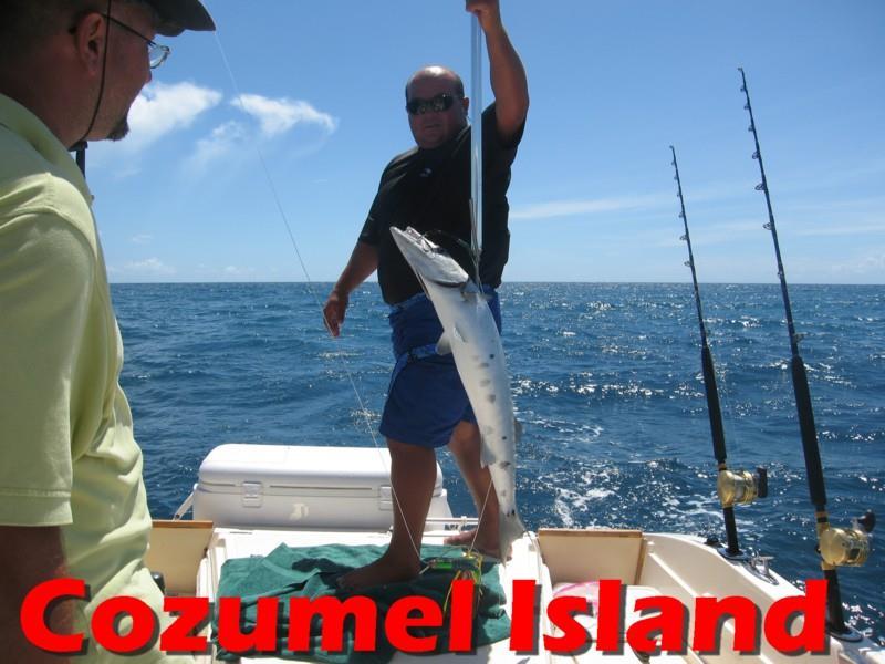 Sport fishing in Cozumel