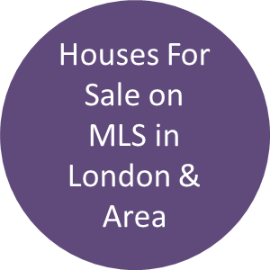 Houses for sale on MLS London and area