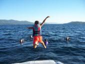 Fun on Hayden Lake