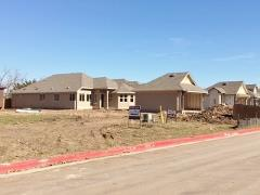 New homes going up in Stonewood Commons