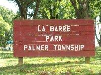 La Barre Park in Palmer Township