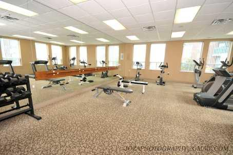 Papillon Place exercise room