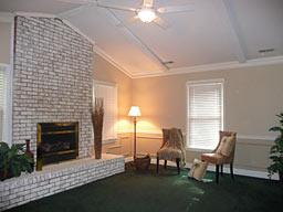 Family Room, After Staging