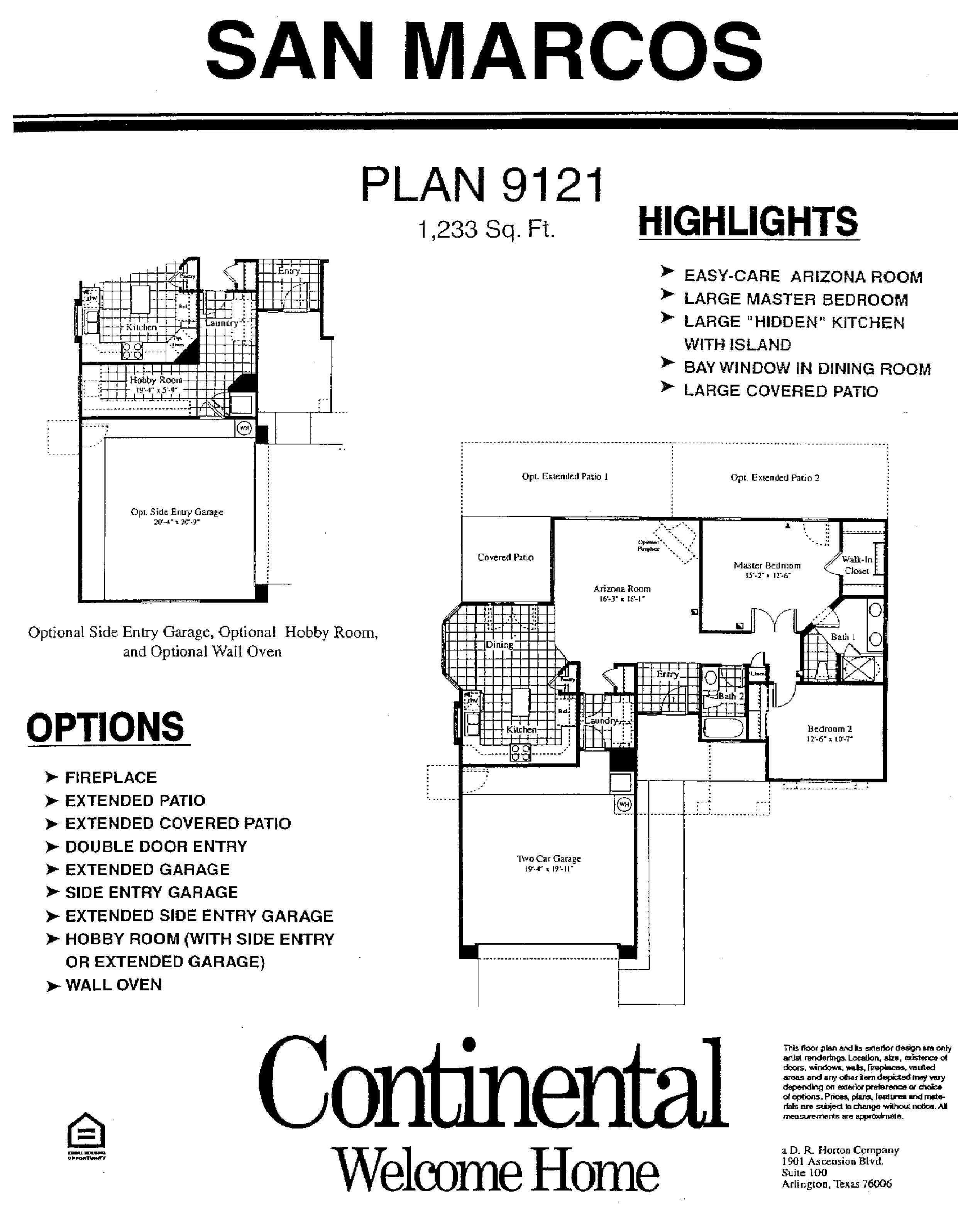 Sun City Festival Floor Plans Arizona Traditions San Marcos Floor Plan Model Home Plans