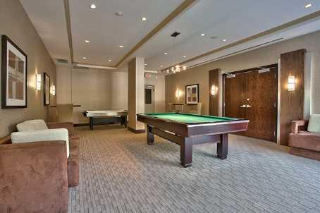Eden Park condominium games room