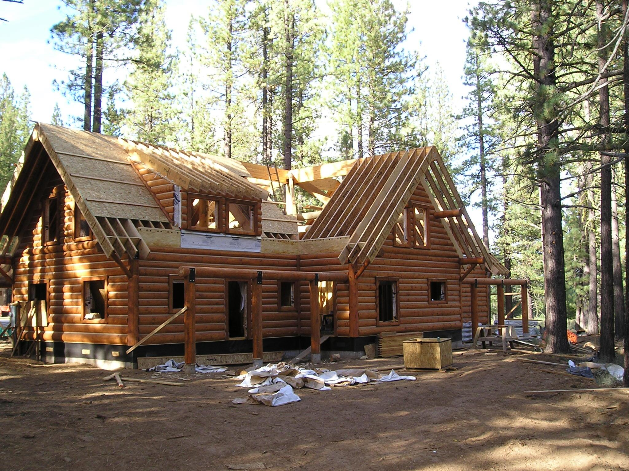 Building A Log Home From Start To Finish With Our System