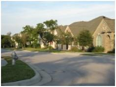 A view of the Loma Vista neighborhood in SW Austin.