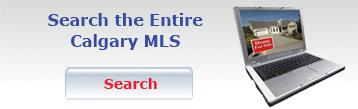 Search the entire Calgary MLS