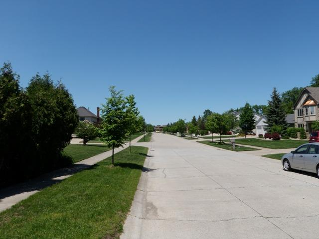 Fox Creek Meadows Livonia Michigan street views