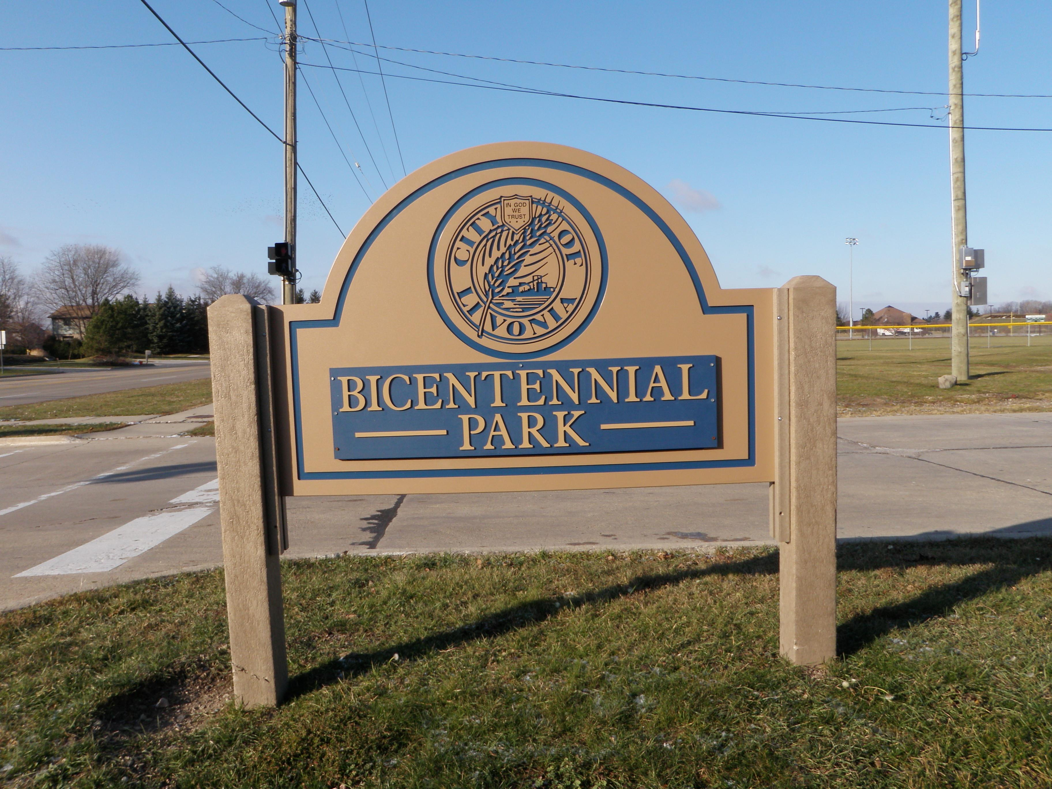 Bicentennial Park Livonia Michigan