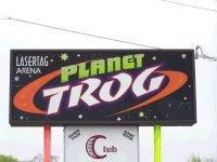Planet Trog Lasertag arena in the Lehigh Valley