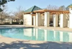 One of the two community pools in the Round Rock Ranch neighborhood.